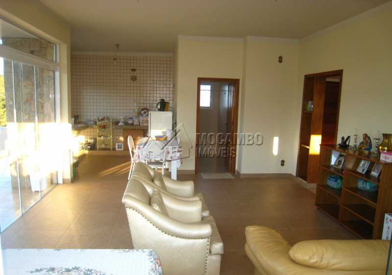 Sala - Casa em Condomínio 4 quartos para venda e aluguel Itatiba,SP - R$ 13.200 - FCCN40159 - 9