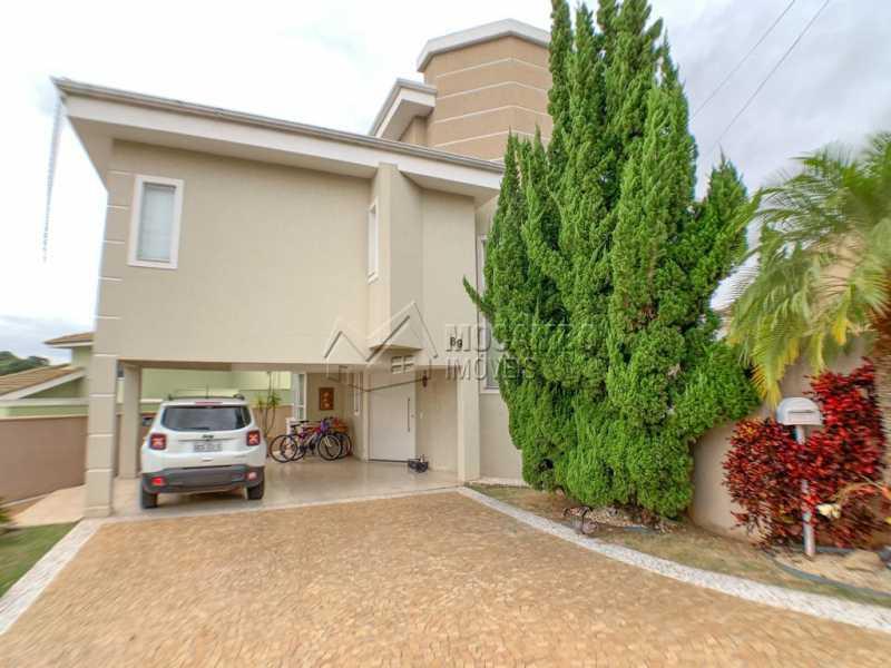 Fachada - Casa em Condomínio 4 quartos à venda Itatiba,SP - R$ 1.650.000 - FCCN40160 - 3