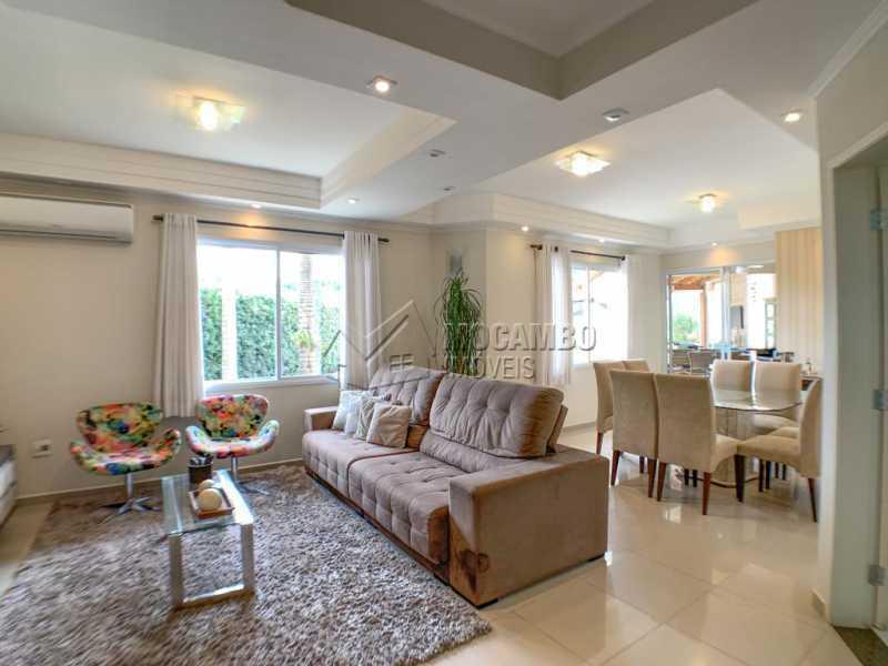 Sala - Casa em Condomínio 4 quartos à venda Itatiba,SP - R$ 1.650.000 - FCCN40160 - 5