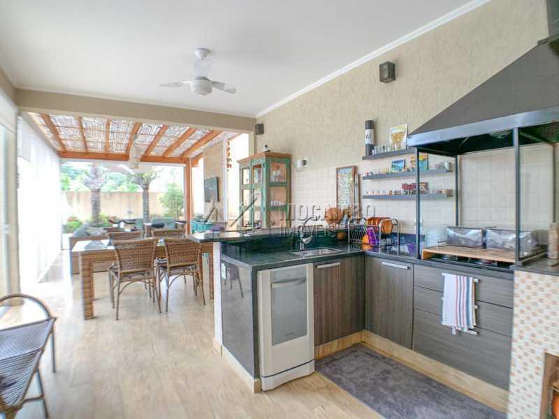 Espaço Gourmet - Casa em Condomínio 4 quartos à venda Itatiba,SP - R$ 1.650.000 - FCCN40160 - 11