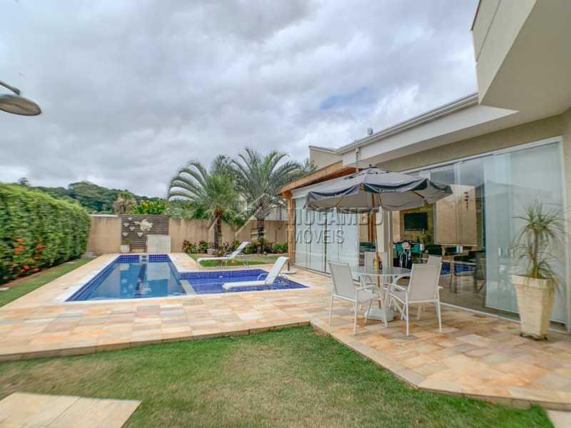 Piscina - Casa em Condomínio 4 quartos à venda Itatiba,SP - R$ 1.650.000 - FCCN40160 - 13