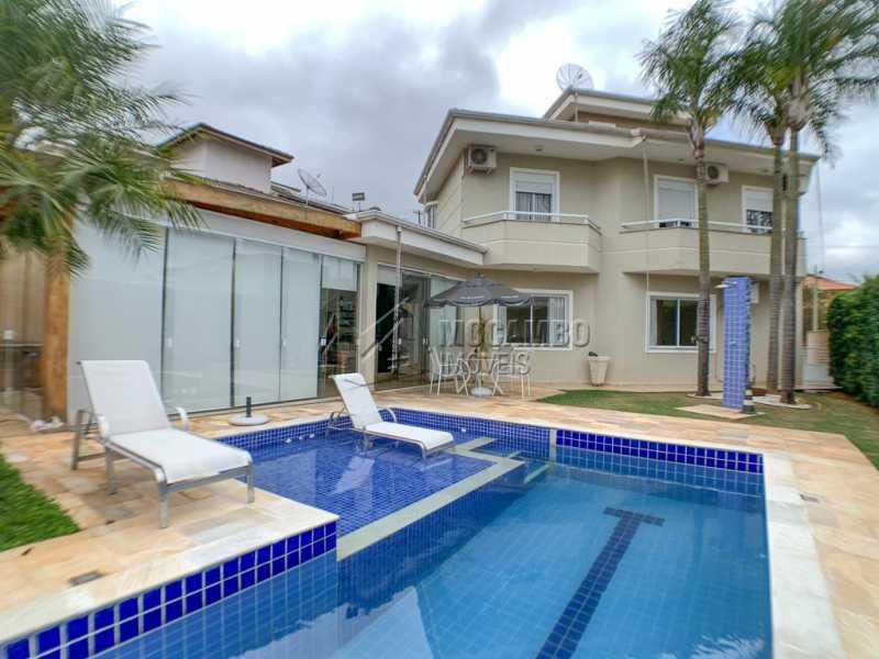 Piscina - Casa em Condomínio 4 quartos à venda Itatiba,SP - R$ 1.650.000 - FCCN40160 - 27