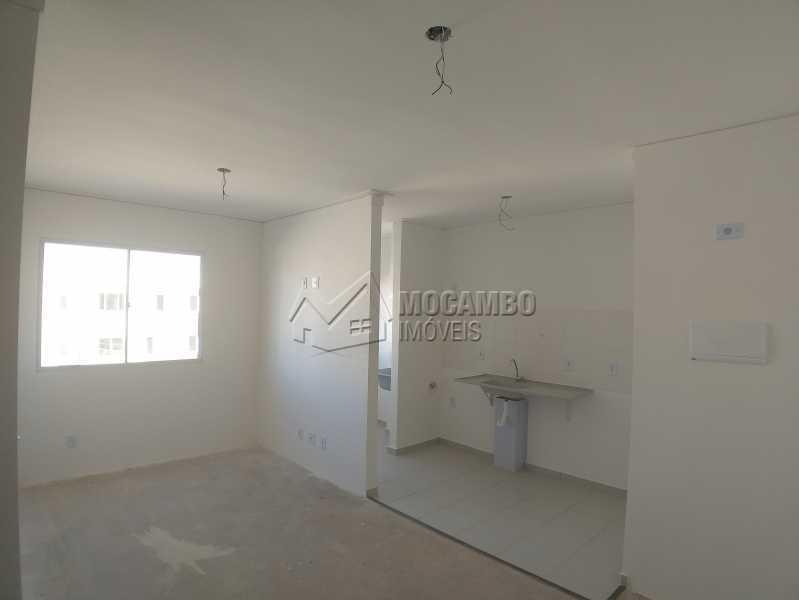 Cozinha e Sala - Apartamento 2 quartos à venda Itatiba,SP - R$ 181.000 - FCAP21099 - 5