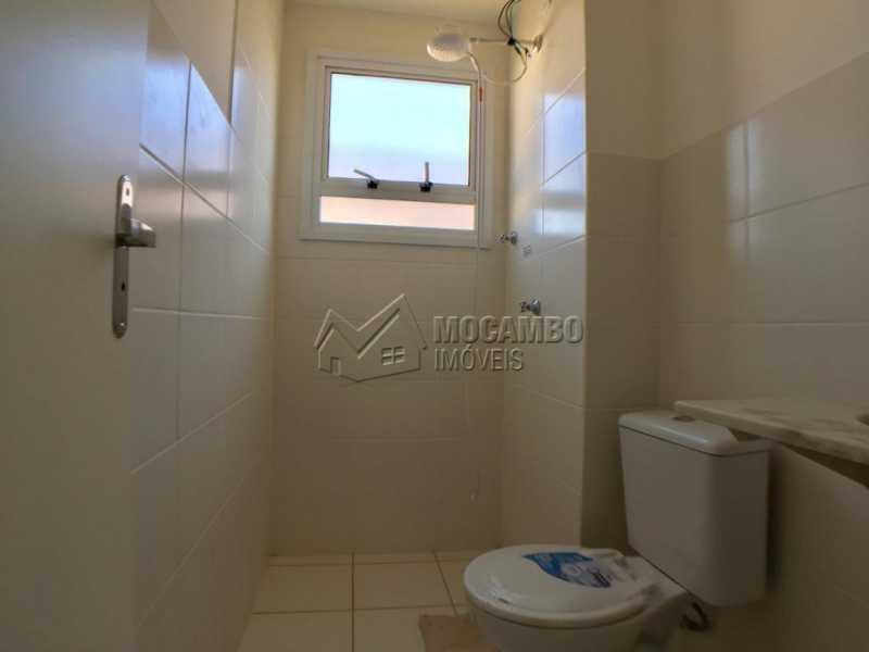 Banheiro social - Apartamento 2 quartos à venda Itatiba,SP - R$ 175.000 - FCAP21101 - 4