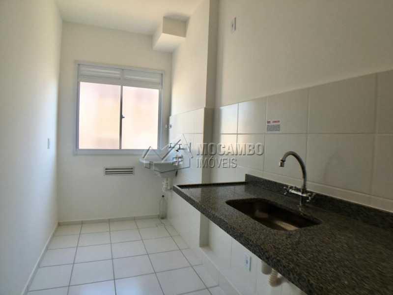Cozinha / área de serviço - Apartamento 2 quartos à venda Itatiba,SP - R$ 175.000 - FCAP21101 - 1