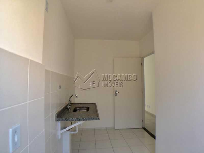 Cozinha - Apartamento 2 quartos à venda Itatiba,SP - R$ 175.000 - FCAP21101 - 3