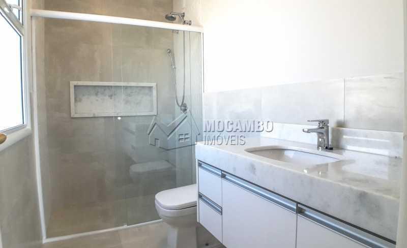 Banheiro Suíte 01 - Casa em Condomínio 3 quartos para venda e aluguel Itatiba,SP - R$ 10.000 - FCCN30464 - 8