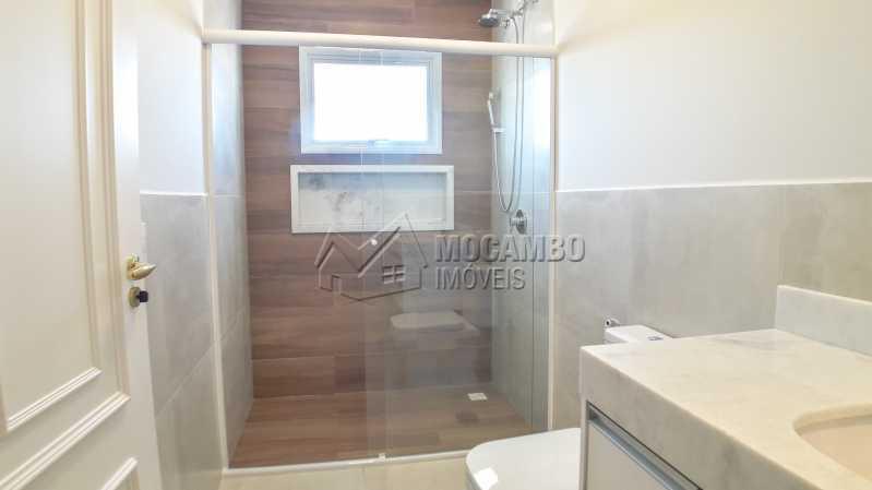 Banheiro Suíte 02 - Casa em Condomínio 3 quartos para venda e aluguel Itatiba,SP - R$ 10.000 - FCCN30464 - 12