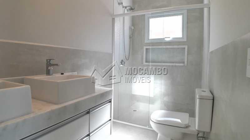 Banheiro Suíte Casal - Casa em Condomínio 3 quartos para venda e aluguel Itatiba,SP - R$ 10.000 - FCCN30464 - 15