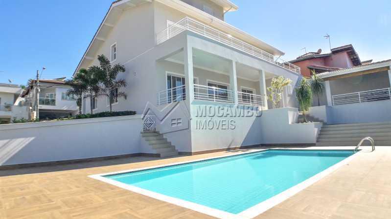 Área Externa  - Casa em Condomínio 3 quartos para venda e aluguel Itatiba,SP - R$ 10.000 - FCCN30464 - 3