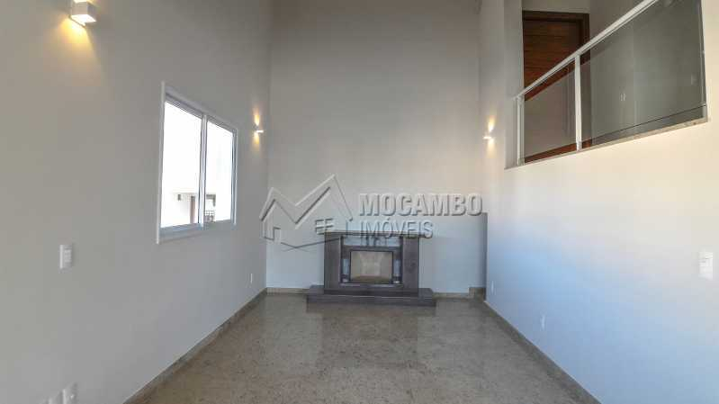 Sala com Lareira - Casa em Condomínio 3 quartos para venda e aluguel Itatiba,SP - R$ 10.000 - FCCN30464 - 19