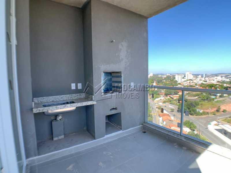 Varanda Gourmet  - Apartamento 4 Quartos À Venda Itatiba,SP - R$ 855.000 - FCAP40007 - 4