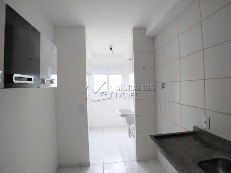 Cozinha - Apartamento 2 quartos à venda Itatiba,SP - R$ 223.000 - FCAP21107 - 4