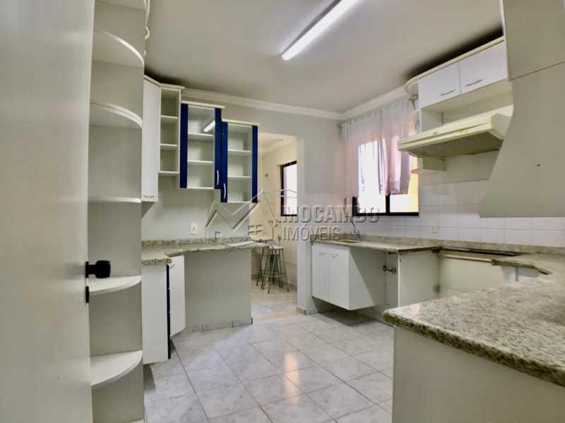 Cozinha planejada - Apartamento 3 quartos à venda Itatiba,SP - R$ 430.000 - FCAP30560 - 4