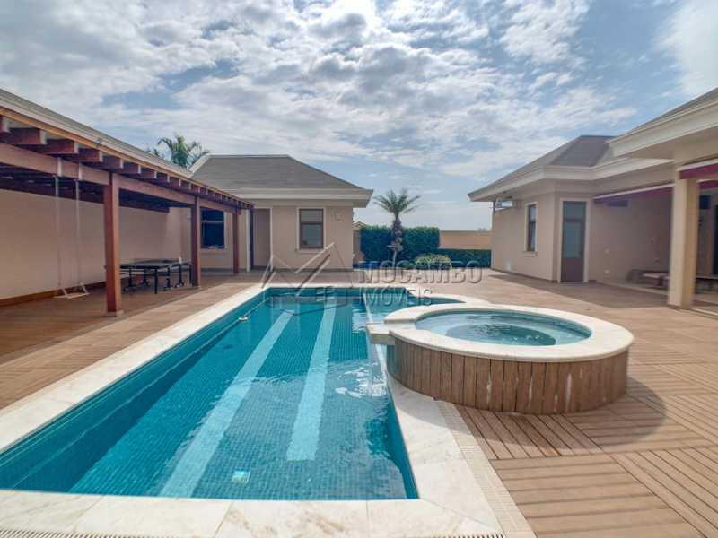 Piscina - Casa em Condomínio 4 quartos à venda Itatiba,SP - R$ 3.998.000 - FCCN40161 - 13