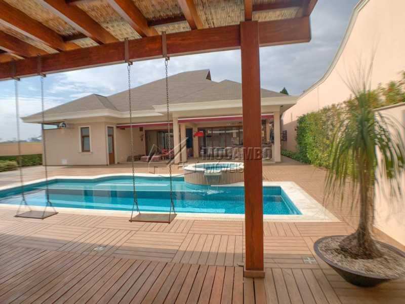 Piscina - Casa em Condomínio 4 quartos à venda Itatiba,SP - R$ 3.998.000 - FCCN40161 - 14