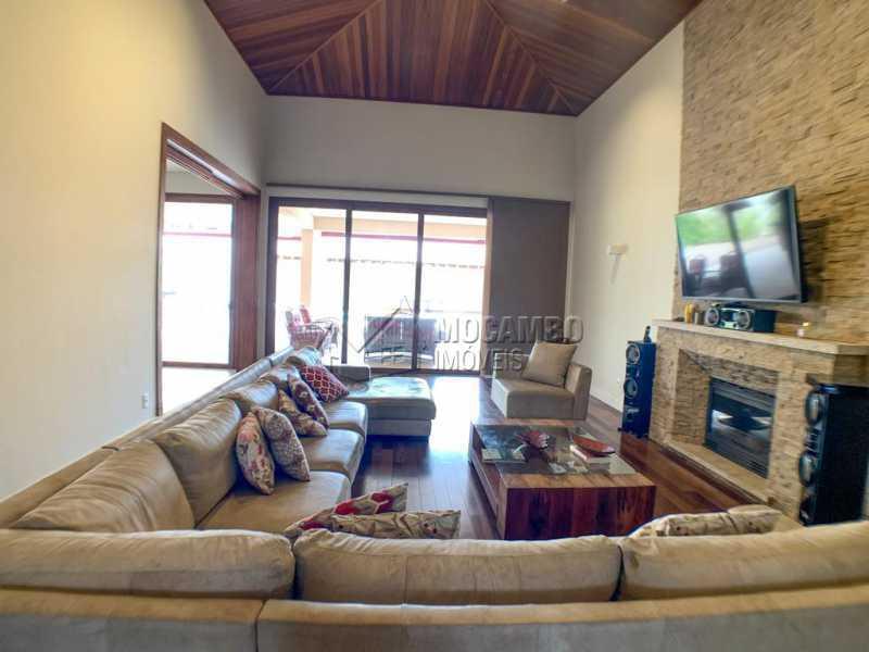 Sala de estar - Casa em Condomínio 4 quartos à venda Itatiba,SP - R$ 3.998.000 - FCCN40161 - 3