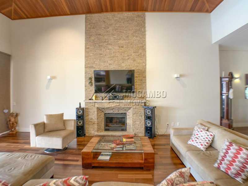Sala de estar - Casa em Condomínio 4 quartos à venda Itatiba,SP - R$ 3.998.000 - FCCN40161 - 9