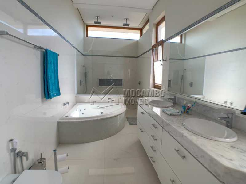 Banheiro da suíte master - Casa em Condomínio 4 quartos à venda Itatiba,SP - R$ 3.998.000 - FCCN40161 - 18