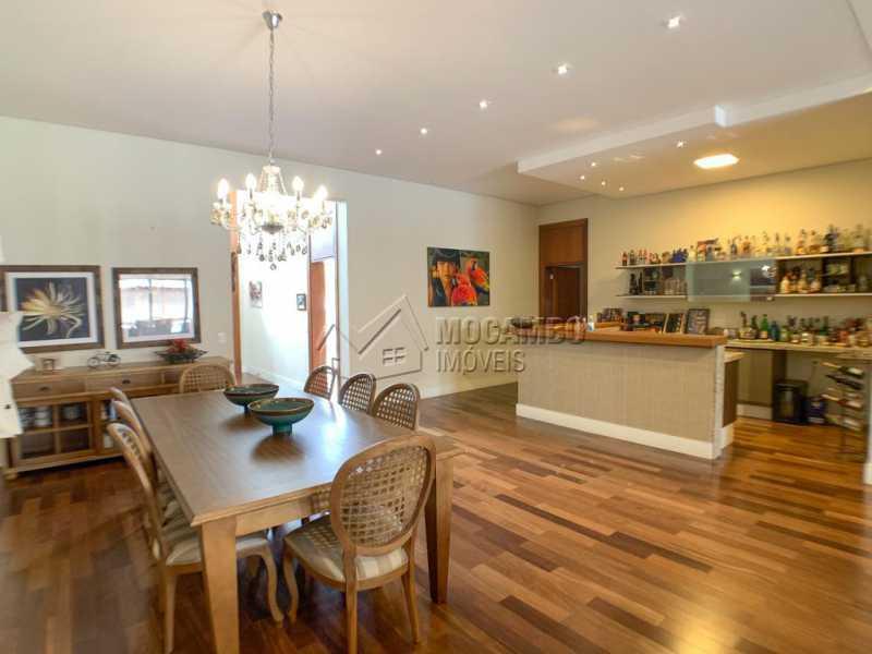 Sala Jantar - Casa em Condomínio 4 quartos à venda Itatiba,SP - R$ 3.998.000 - FCCN40161 - 6