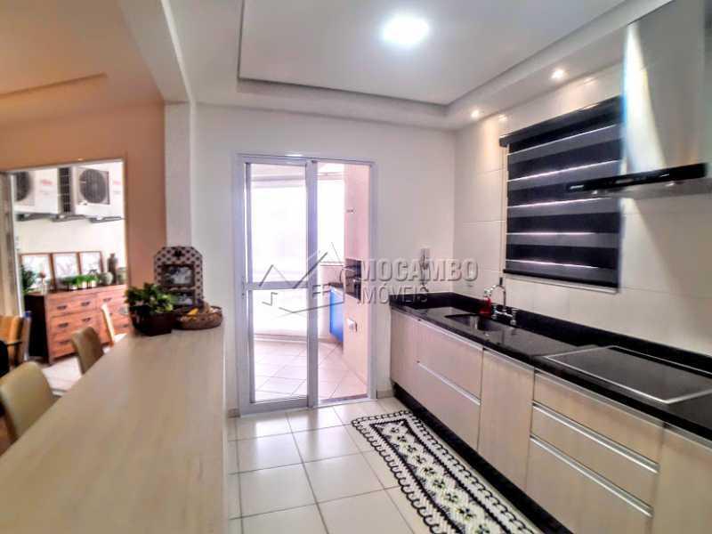 Cozinha  - Apartamento 3 quartos à venda Itatiba,SP - R$ 750.000 - FCAP30563 - 12