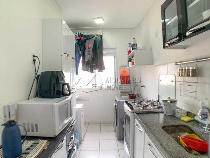 Cozinha - Casa em Condomínio 2 quartos à venda Itatiba,SP - R$ 215.000 - FCCN20035 - 8