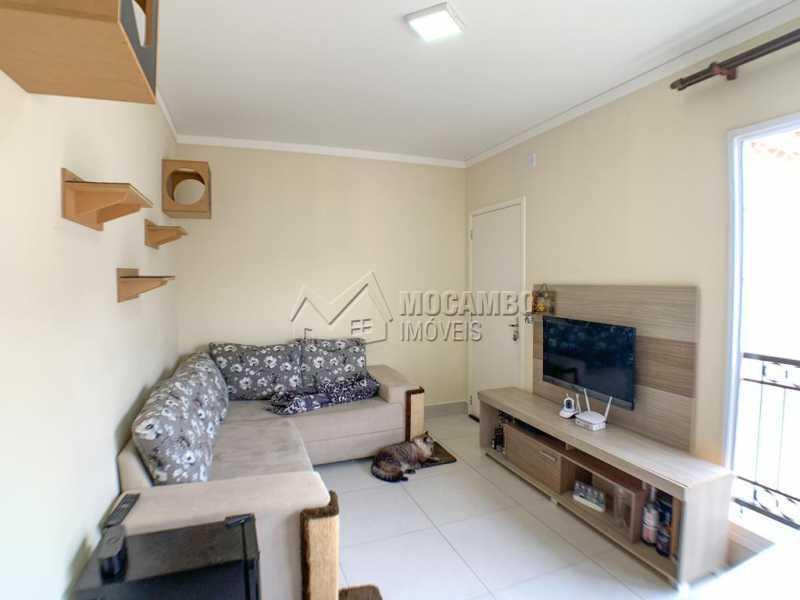 Sala - Casa em Condomínio 2 quartos à venda Itatiba,SP - R$ 215.000 - FCCN20035 - 3