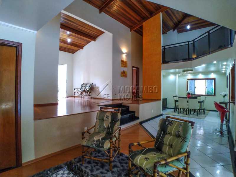 Living 3 ambientes - Casa em Condomínio 4 quartos à venda Itatiba,SP - R$ 990.000 - FCCN40162 - 11