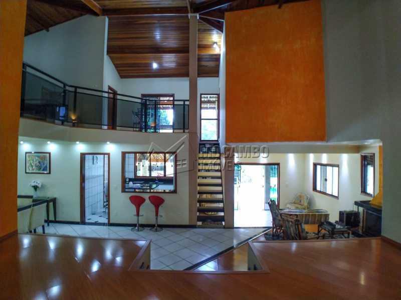 Living 3 ambientes - Casa em Condomínio 4 quartos à venda Itatiba,SP - R$ 990.000 - FCCN40162 - 6