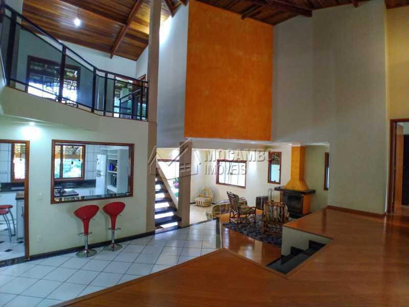 Living 3 ambientes - Casa em Condomínio 4 quartos à venda Itatiba,SP - R$ 990.000 - FCCN40162 - 9