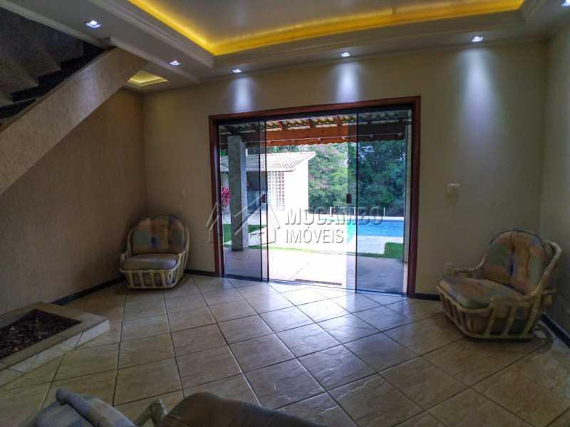 Sala de acesso área gourmet - Casa em Condomínio 4 quartos à venda Itatiba,SP - R$ 990.000 - FCCN40162 - 10