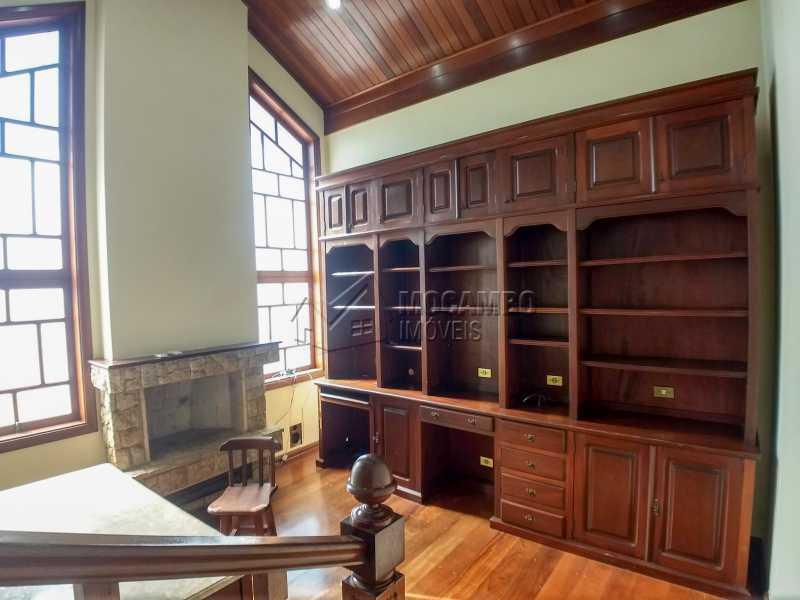 Sala de Lareira - Casa 3 quartos para alugar Itatiba,SP - R$ 2.800 - FCCA31359 - 3