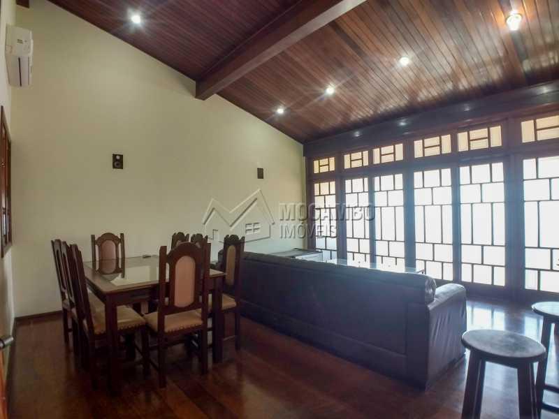 Sala de TV - Casa 3 quartos para alugar Itatiba,SP - R$ 2.800 - FCCA31359 - 4
