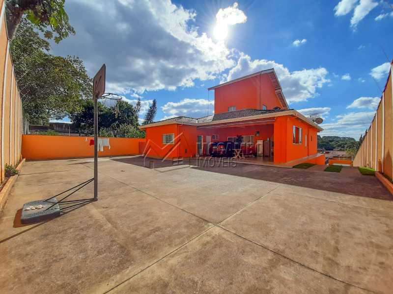 Quintal. - Casa 4 quartos à venda Itatiba,SP - R$ 900.000 - FCCA40143 - 6