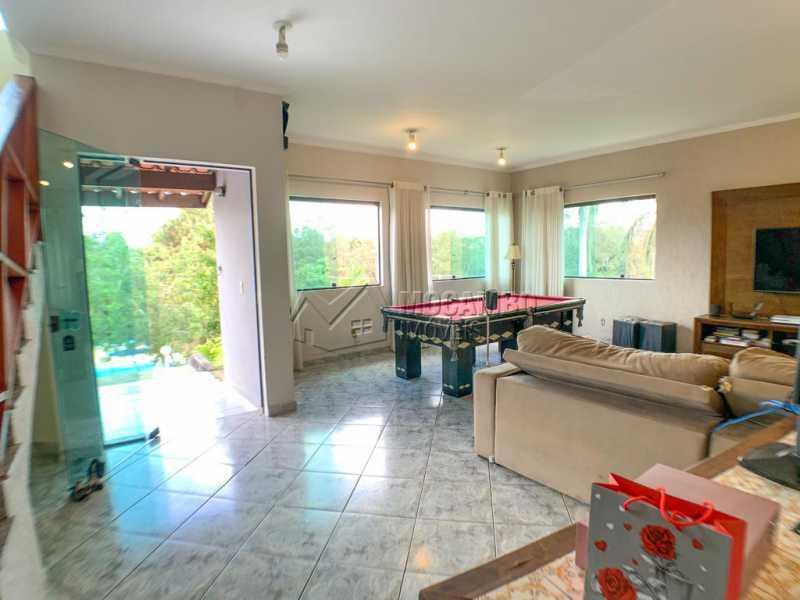 Sala - Casa em Condomínio 4 quartos à venda Itatiba,SP - R$ 1.300.000 - FCCN40165 - 4