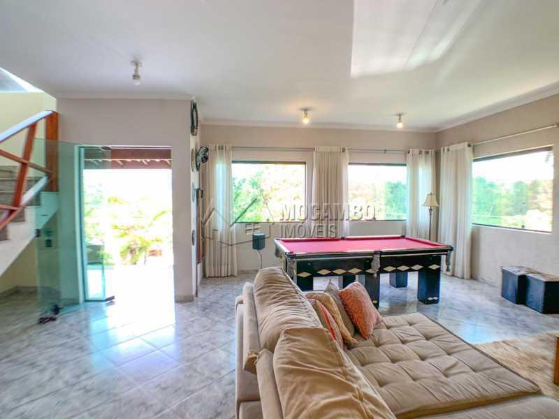 Sala - Casa em Condomínio 4 quartos à venda Itatiba,SP - R$ 1.300.000 - FCCN40165 - 5