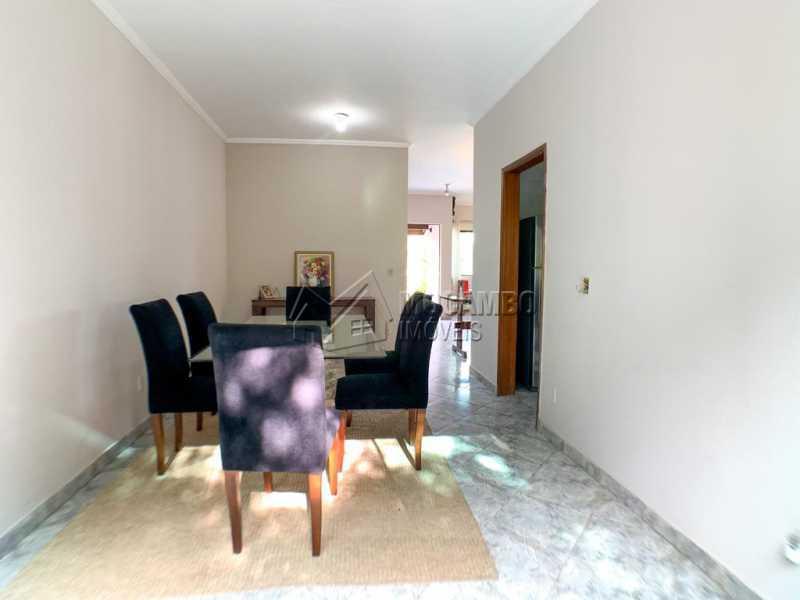 Sala de Jantar - Casa em Condomínio 4 quartos à venda Itatiba,SP - R$ 1.300.000 - FCCN40165 - 6