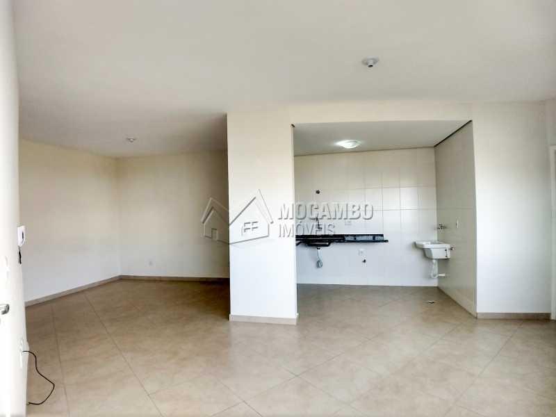Sala/Cozinha - Flat 1 quarto para alugar Itatiba,SP - R$ 900 - FCFL10025 - 3