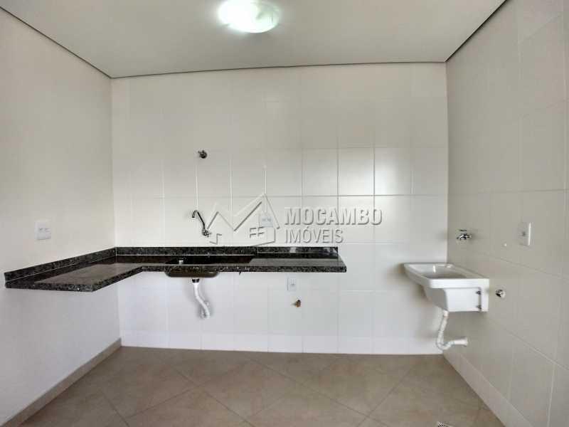 Cozinha - Flat 1 quarto para alugar Itatiba,SP - R$ 900 - FCFL10025 - 5