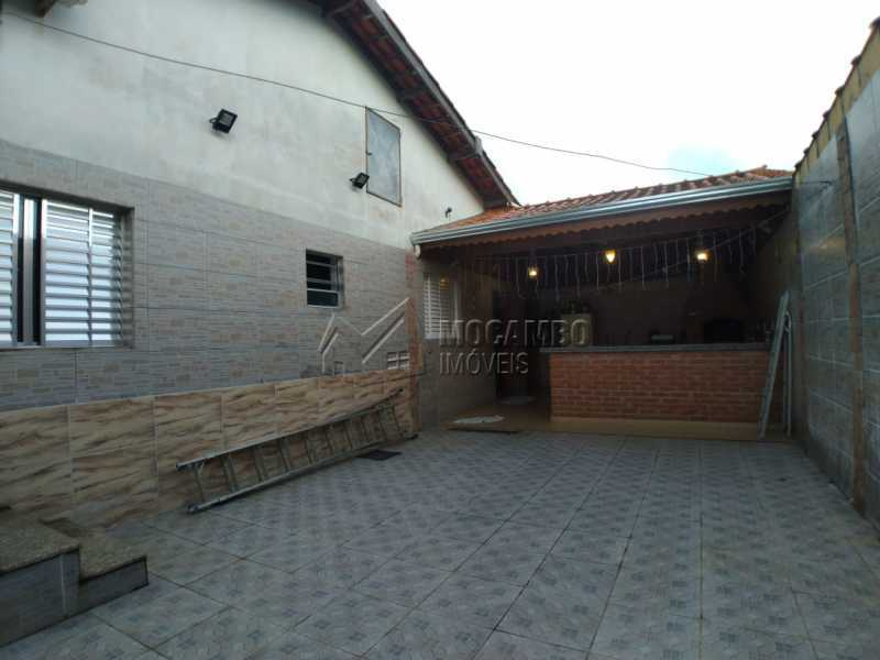 Quintal lateral - Casa 3 quartos à venda Itatiba,SP - R$ 380.000 - FCCA31363 - 8
