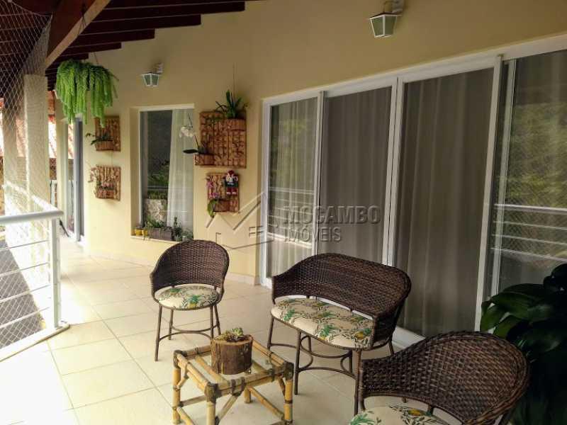 Varanda - Casa em Condomínio 3 quartos à venda Itatiba,SP - R$ 1.350.000 - FCCN30470 - 8