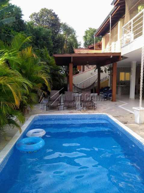 Área da Piscina - Casa em Condomínio 3 quartos à venda Itatiba,SP - R$ 1.350.000 - FCCN30470 - 5