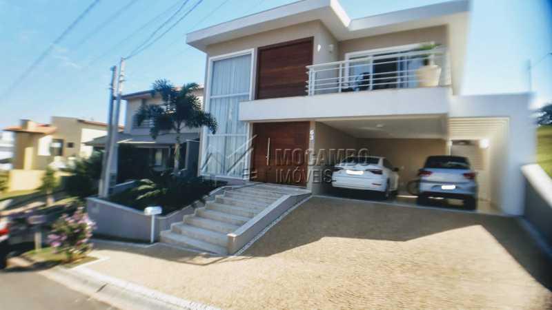 Fachada  - Casa em Condomínio 3 quartos à venda Itatiba,SP - R$ 1.290.000 - FCCN30475 - 1