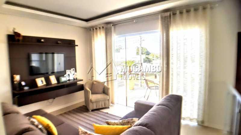 Sala de tv  - Casa em Condomínio 3 quartos à venda Itatiba,SP - R$ 1.290.000 - FCCN30475 - 14