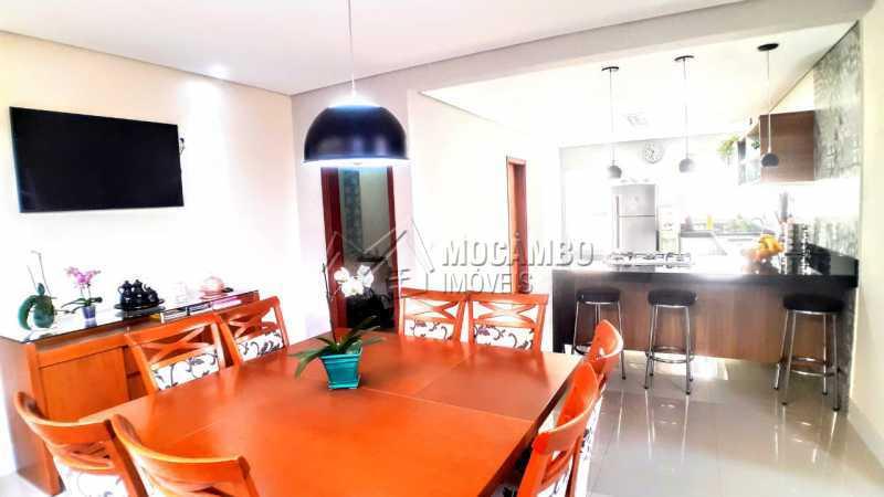Sala Jantar  - Casa em Condomínio 3 quartos à venda Itatiba,SP - R$ 1.290.000 - FCCN30475 - 10