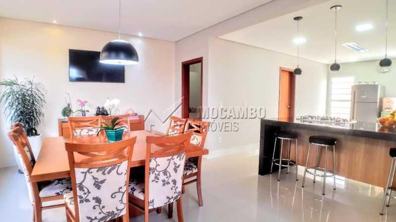 Sala Cozinha  - Casa em Condomínio 3 quartos à venda Itatiba,SP - R$ 1.290.000 - FCCN30475 - 18