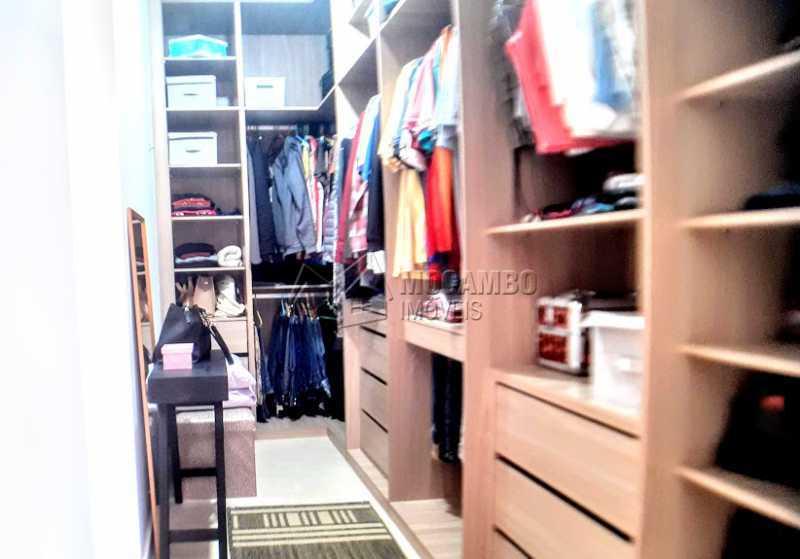 Closet  - Casa em Condomínio 3 quartos à venda Itatiba,SP - R$ 1.290.000 - FCCN30475 - 7