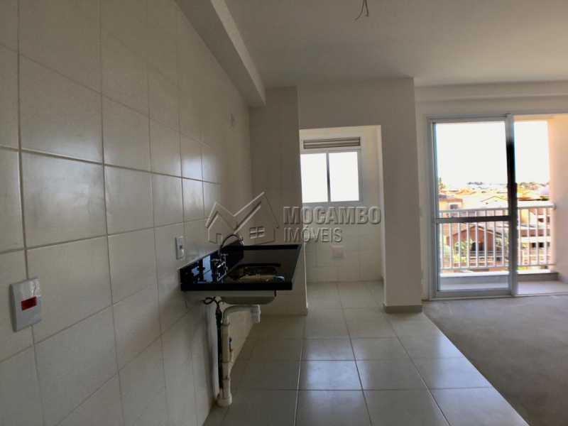 Cozinha - Apartamento 2 quartos à venda Itatiba,SP - R$ 270.000 - FCAP21135 - 6