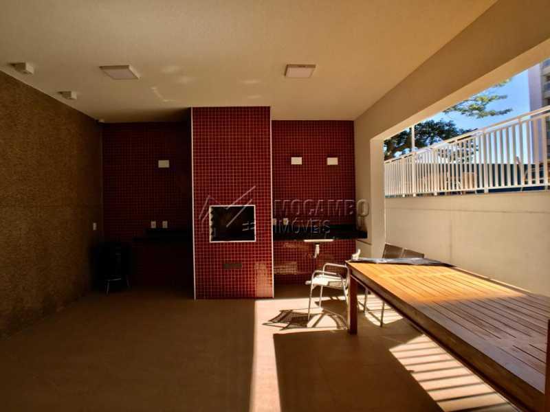 Churrasqueira  - Apartamento 2 quartos à venda Itatiba,SP - R$ 270.000 - FCAP21135 - 13