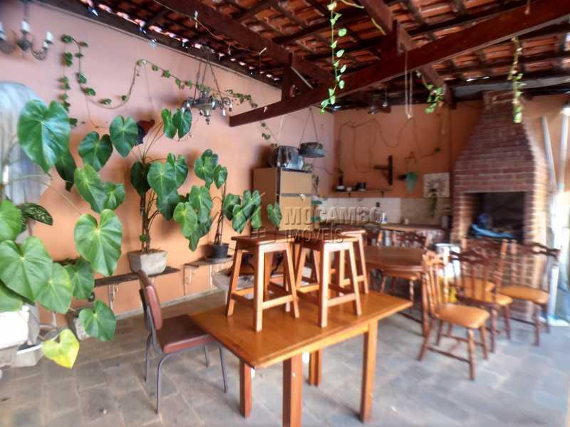 Área de Churrasqueira - Casa 2 quartos para alugar Itatiba,SP - R$ 2.300 - FCCA21373 - 3